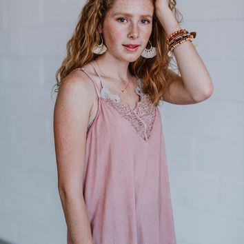 Indy Camisole Tank - Pink
