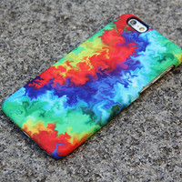 Abstract TieDye iPhone 6s Case | iPhone 6 plus Case | iPhone 5 Case | iPhone 7 Plus Case 3D 05-1