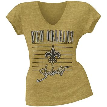 New Orleans Saints - Scrum Logo Premium Juniors T-Shirt