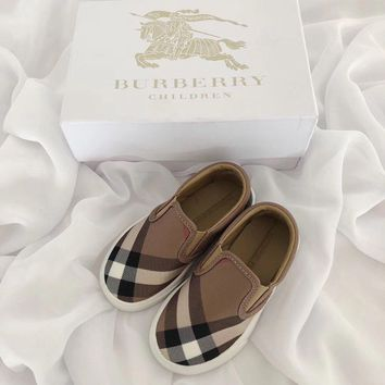 Burberry children Casual shoes