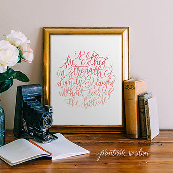 Shop Bible Verses Calligraphy on Wanelo