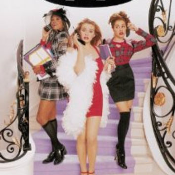 Clueless 1995 Movie DVD Widescreen Edition Used Alicia Silverstone UPC097363321545