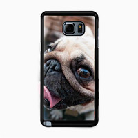 Pug Dog for Samsung Galaxy Note 5 Case *NP*