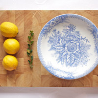 Faience Fruit Stand / Compote
