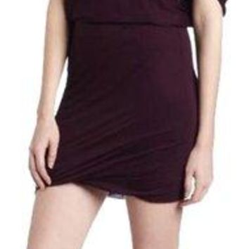 NWT Velvet By Graham & Spencer Correll Tunic Dress in Grapevine, Medium