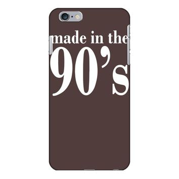 ladies made in the 90s iPhone 6/6s Plus Case