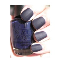 OPI Nail Lacquer - Russian Navy Suede - 0.5 oz