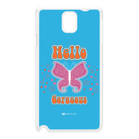 Sassy - Hello Gorgeous 10433 White Hard Plastic Case for Galaxy Note 3 by Sassy Slang