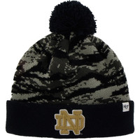Notre Dame Fighting Irish '47 Brand Tigershade Beanie – Gray