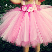Pink Princess Cupcake Tutu Dress- Birthday, 1st birthday, pageant, Girl, Newborn, Infant, cake smash, photo prop