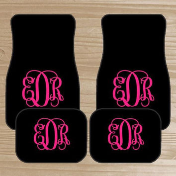 Personalized/monogram floor mats