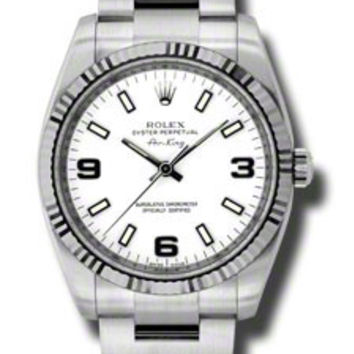 Rolex Air-King Mens Self-Winding Watch 114234WASO