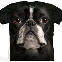 Boston Terrier Face T-Shirts
