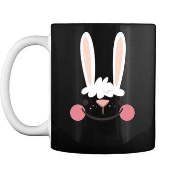 Classic Easter Bunny Face Happy Easter T Shirt for Kids Mug