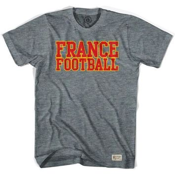 France Football Nation Soccer T-shirt-Adult