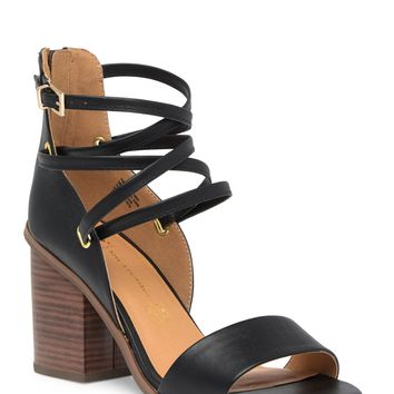 BC Footwear | Come Home Vegan Block Heel Sandal | Nordstrom Rack