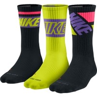 Nike Dri-FIT Fly Rise Crew Sock 3 Pack | DICK'S Sporting Goods