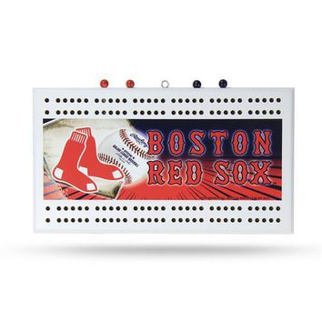 Boston Red Sox MLB Cribbage Board