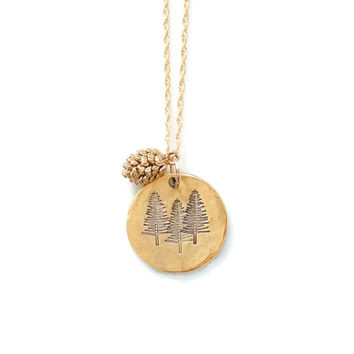 Pine Tree Necklace