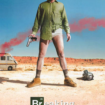Breaking Bad Walter White Poster 24x36