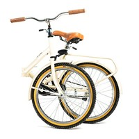Gina Folding Bike - White