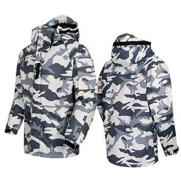 "New Premium ""SouthPlay"" Winter Season Waterproof 10,000mm Warming Ski & Snowboard  White Camo Army Military Jackets"