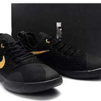 LeBron Witness 3.0 Basketball Shoes - Black/Gold