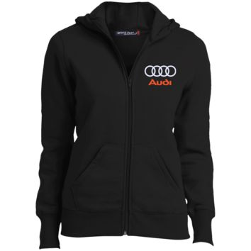 Audi Ladies' Full-Zip Hoodie