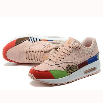 Trendsetter  Nike Air Max 1 What The  Women Men Fashion Casual Sneakers Sport Shoes