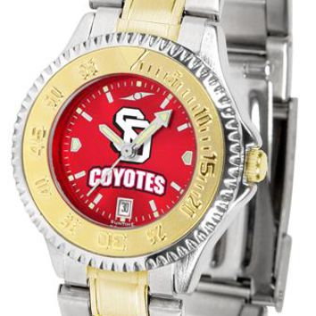 South Dakota Coyotes Competitor Ladies Two-Tone AnoChrome Watch