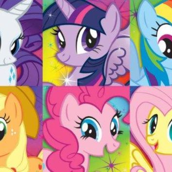 My Little Pony Portraits Bronies 24x36 Poster