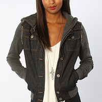 Glamour Kills GIRLS THE WIZ KID DENIM JACKET