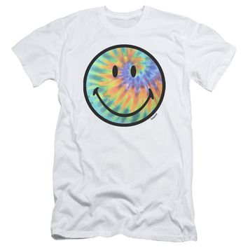 Smiley World - Tie Dye Face Short Sleeve Adult 30/1