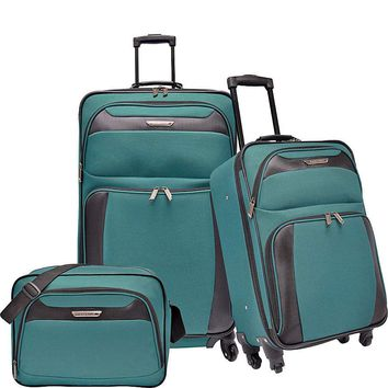 Traveler's Choice Richmond 3-Piece Spinner Luggage Set - eBags.com