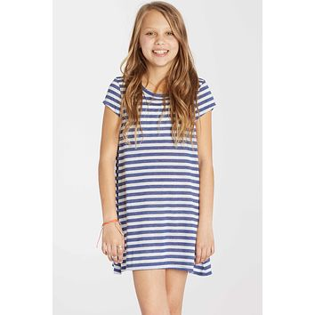 Billabong Girls - Sea The Love Dress | Harbor Blue