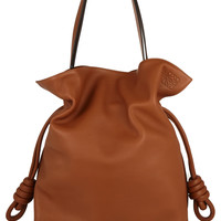 Loewe - Flamenco Knot large leather shoulder bag