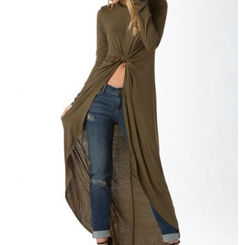 Knot So Cropped Maxi Top