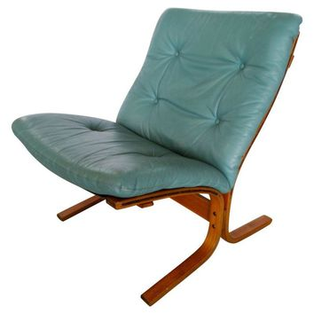 Pre-owned Leather Vestlandske Westnofa Siesta Chair