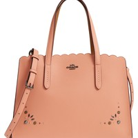 COACH Charlie Studded Leather Tote | Nordstrom