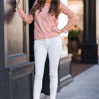 Grace And Lace Top, Apricot