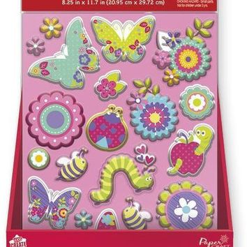 PaperCraft Jumbo Bubble Stickers - CASE OF 24