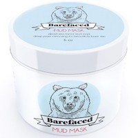 BeBarefaced Dead Sea Facial Mud Mask - Natural Anti Aging Treatment For All Skin Types