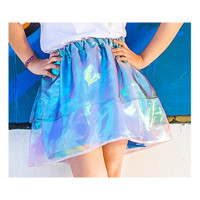 HOME :: Collections :: SALE :: Iridescent layered skirt