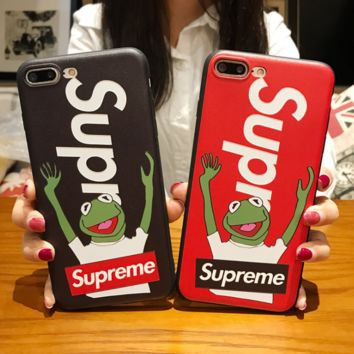 The New Supreme Frog Iphone 6 6s Plus & 7 7 Plus & 8 8 Plus & Iphone X Cover Case