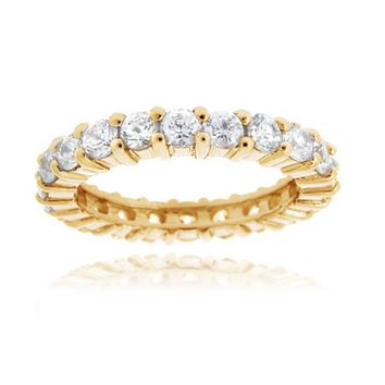Swarovski Elements Gold-Filled Ring