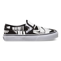 Vans Kids Star Wars Slip-On (Stormtrooper)