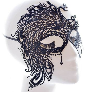 Animation & Comic Mask CosPlay Masks Costume Props for Hollow Party Sexy Lace Eye Mask Venetian Masquerade Ball Party Fancy