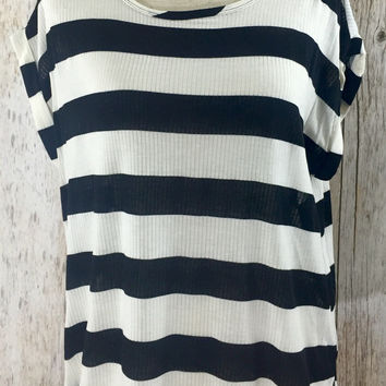 Love on the Line Striped Top