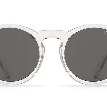 Quay - Kosha Comeback Clear Sunglasses / Smoke Lenses