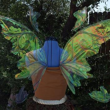 Medium Woodland Fairy Iridescent Fairy Wings